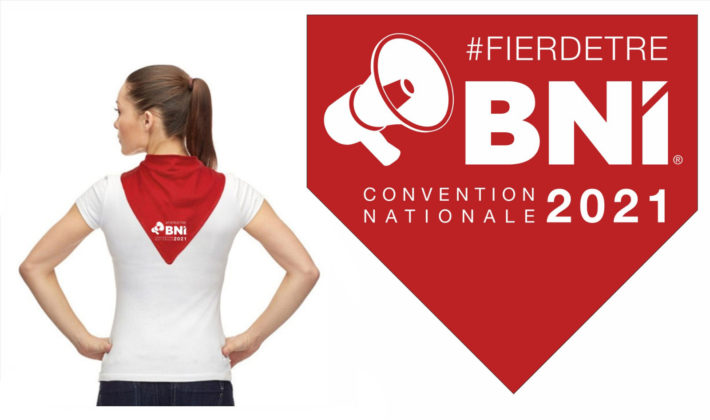 Foulard officiel de la Convention Nationale 2021 | BNI ...